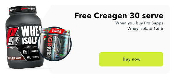 Free Creagen with Pro Supps Whey Isolate