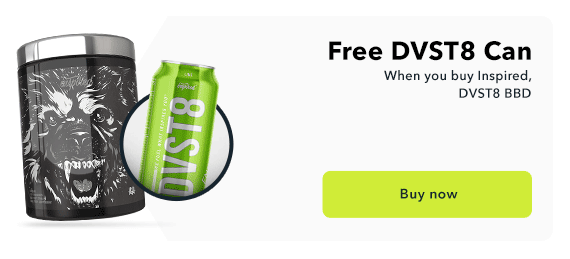 Free DVST8 Can with BBD