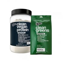 BSC Body Science Clean Vegan Protein + Clean Greens Combo